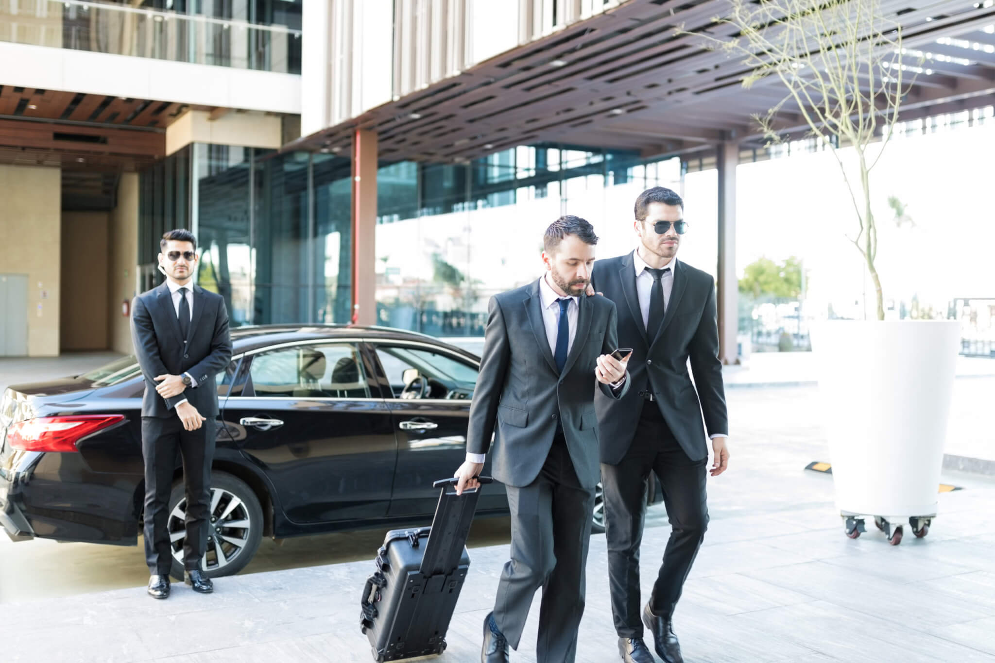 executive protection services in atherton