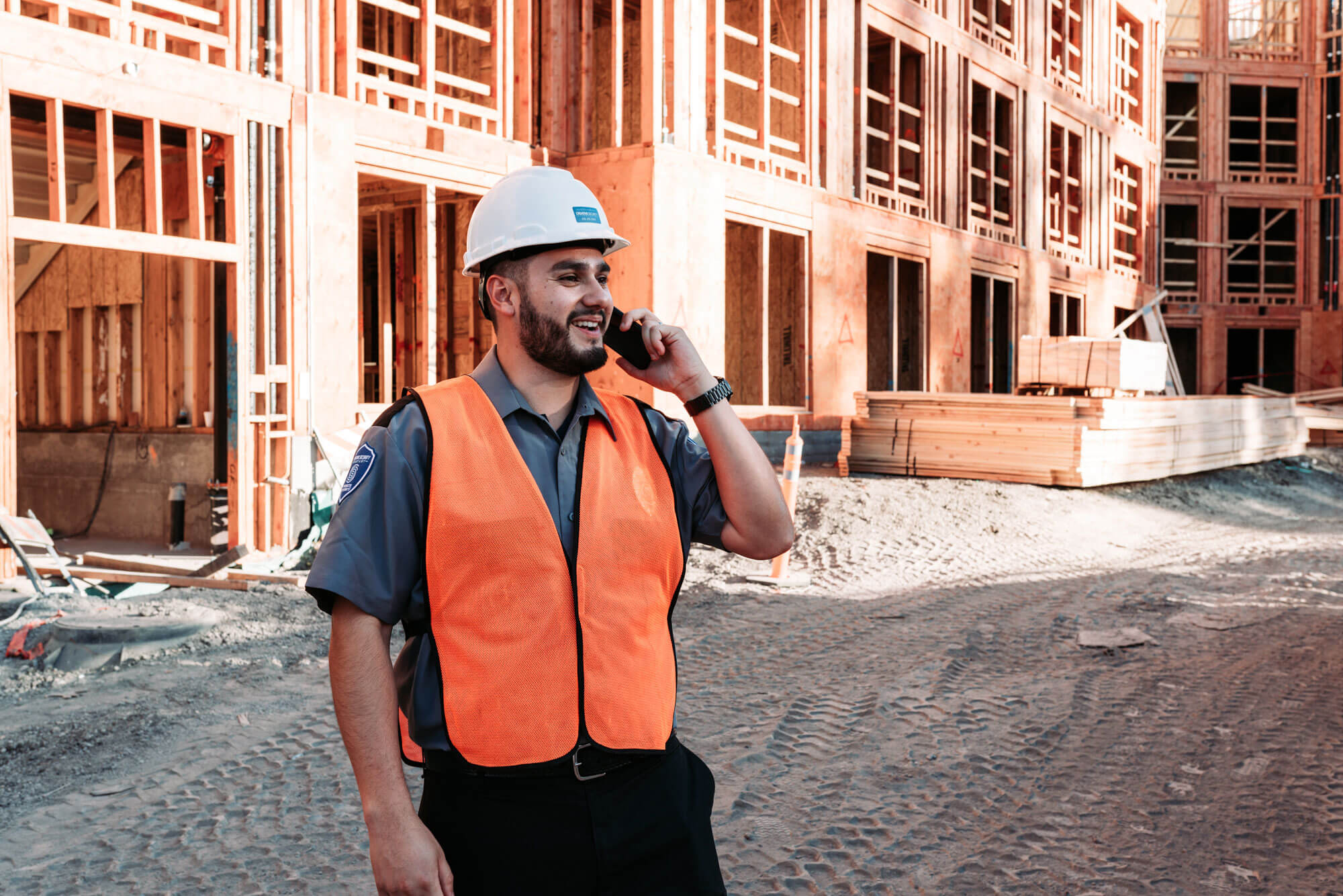 security services for construction sites